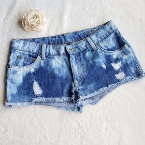 Carmar Distressed Jean Shorts Size 29